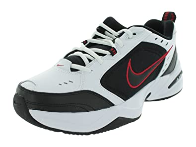 reputable site 83f38 9aafe Image Unavailable. Image not available for. Color  Nike Mens AIR Monarch IV,  White Black ...