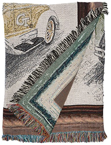 Art Tapestries NCAA Georgia Tech Afghan Throw Blanket, Multicolor, One Size