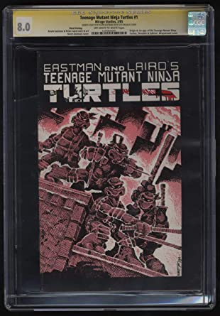Amazon.com: Teenage Mutant Ninja Turtles #1 Third 3rd Print ...