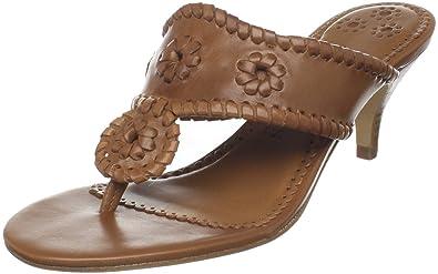 dfa778a278 Amazon.com | Jack Rogers Women's Maggie Kitten Heel Thong Sandal ...