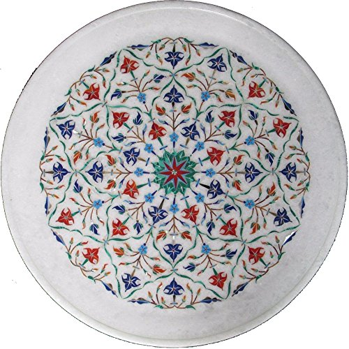 - Marble Plate Marquetry Mosaic Inlay Decor