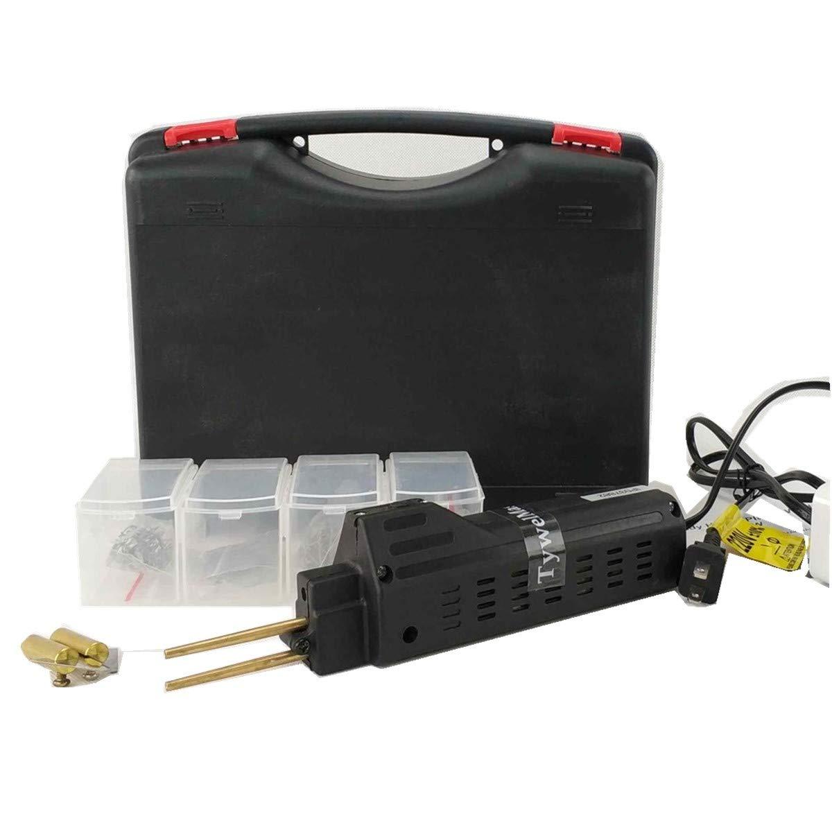 DIY Version outil de r/éparation de pare-chocs de voiture machine de soudure en plastique dagrafe de PVC Soudeuse en plastique pratique machine dagrafes /à chaud de HPW