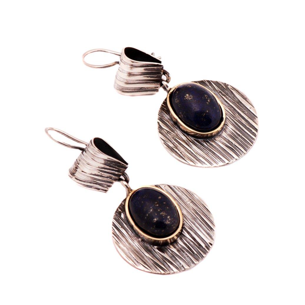 Amazon com: Lapis Lazuli Stone Hammer Forging Sterling Silver