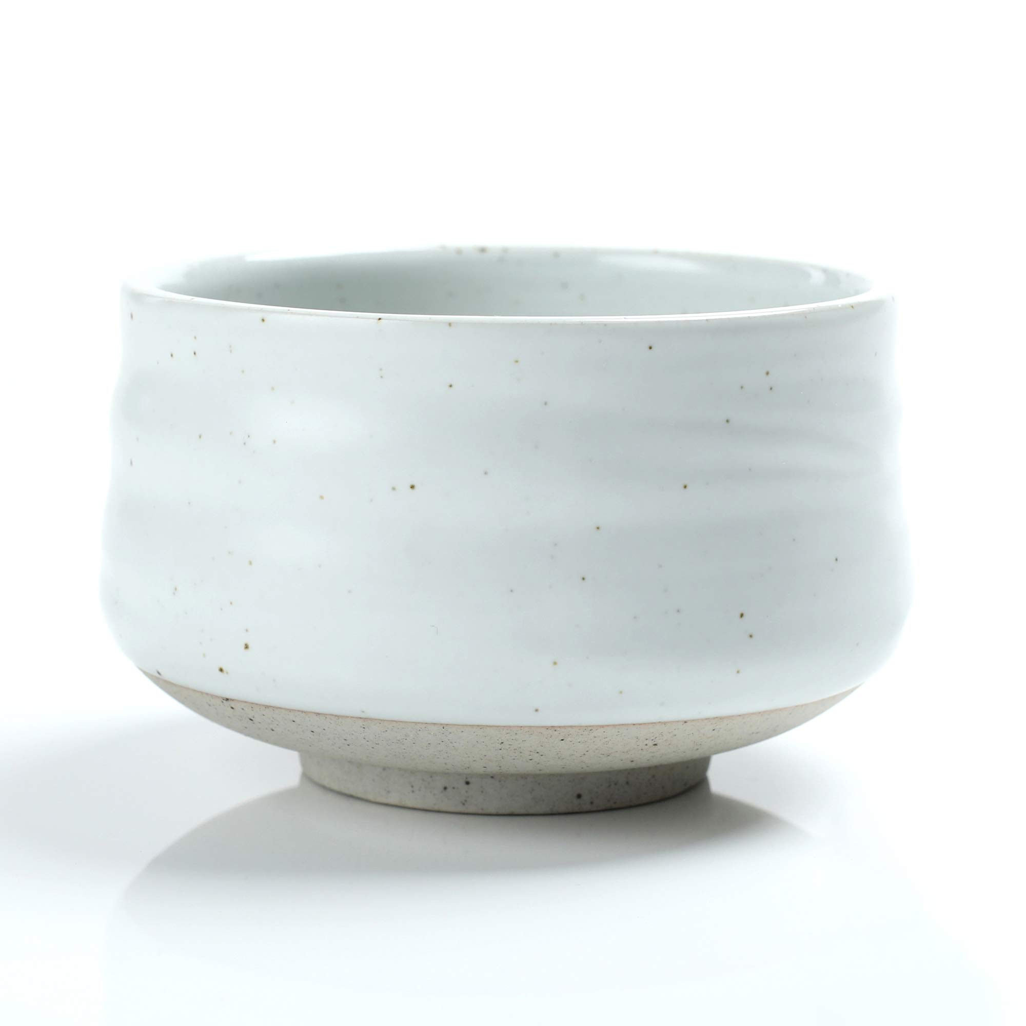 Japanese Ivory White Matcha Bowl, 18 OZ. TEANAGOO MB-1 Chawan Matcha Tea Bowl, Matcha Ceramic Bowl, Tea Bowls For Matcha, Matcha Bowl Chawan, Ceramic Matcha Bowl Traditional Ceremonial Accessories