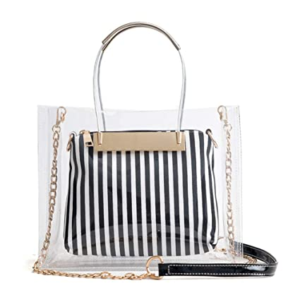 89a58834c67 HaloVa Women's Handbag, Large Crossbody Bag, Waterproof Shoulder Bag,  Multipurpose 2-in-1 Tote Bag, Fashionable Daypack