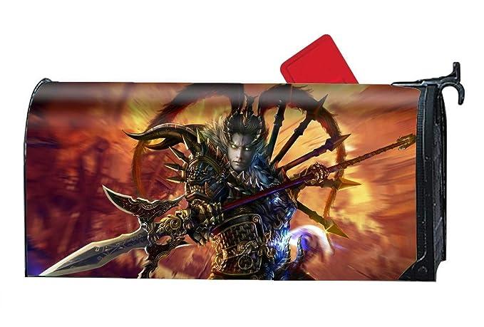Amazon.com: Tymeihao – Funda magnética para buzón – Fantasy ...