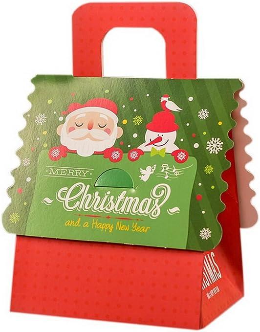 Spicy Meow Cajas de empaquetado del Regalo de Apple de la Navidad ...