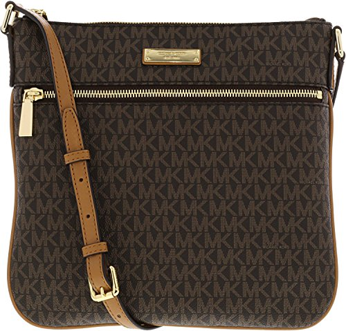 MICHAEL Michael Kors Bedford Signature Flat Cross-Body Bag - Buy Online in  Oman.  66cc460e67d33