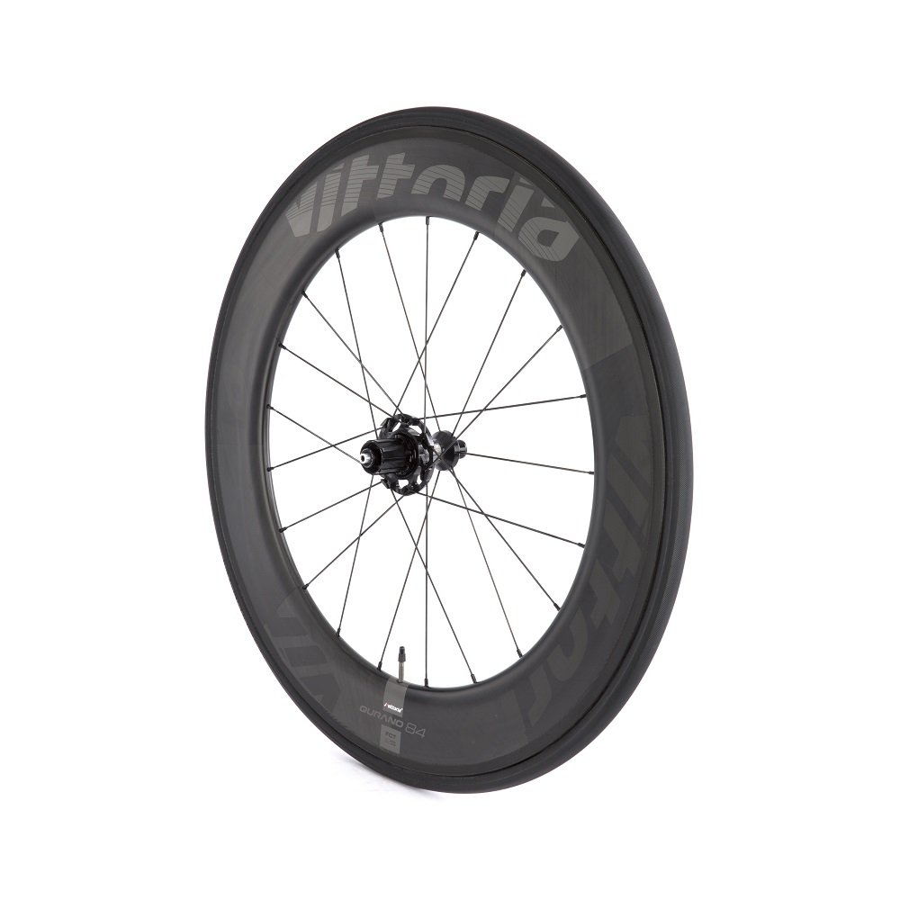 Amazon.com : Vittoria Qurano 84 Carbon Tubular Road Bicycle Wheelset (700C/ 84mm) : Sports & Outdoors