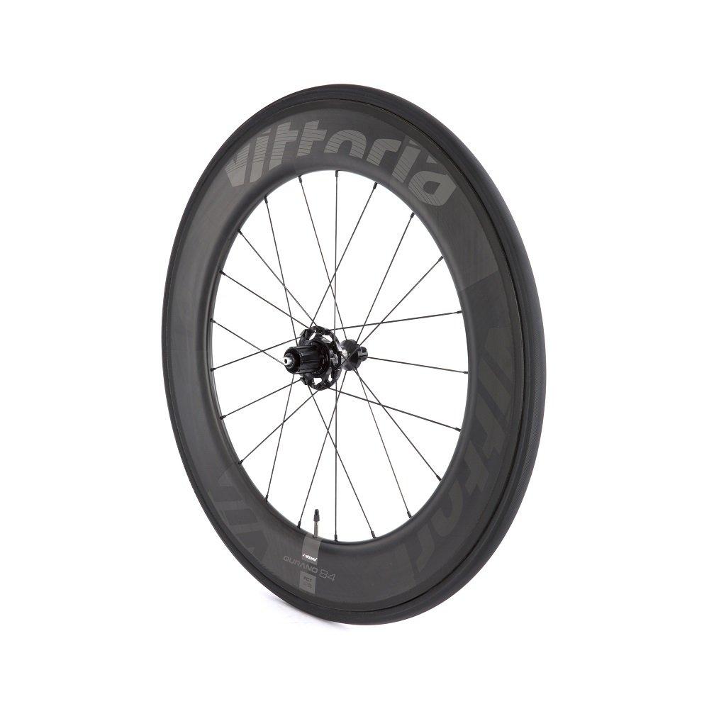 Amazon.com : Vittoria Qurano 84 Carbon Tubular Road Bicycle Wheelset (700C/ 84mm) : Sports & Outdoors