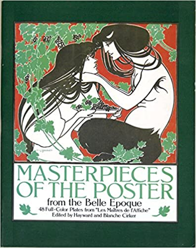 Book Masterpieces of the Poster: Belle Epoque