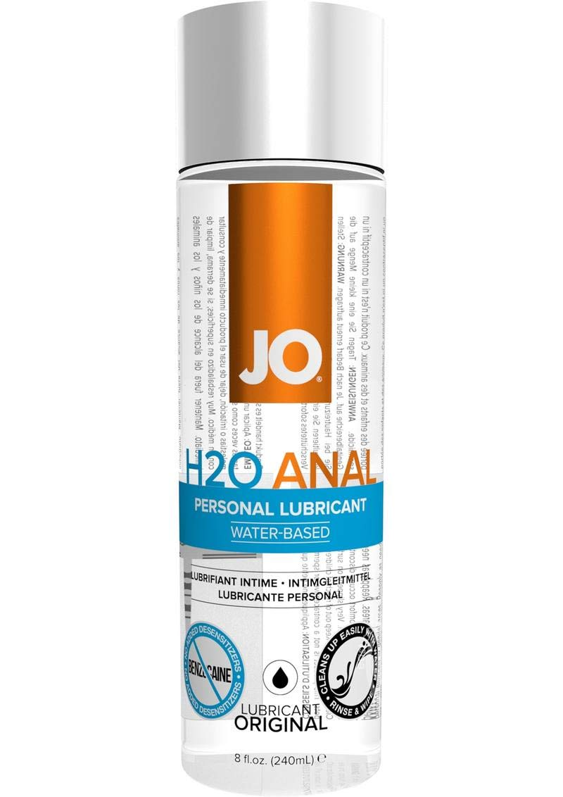 System Jo Water Based Personal Lubricant Silky Smooth Female Libido Enhancer 1pcs H2o Anal Natural Original 8 Ounce Sex Lube For