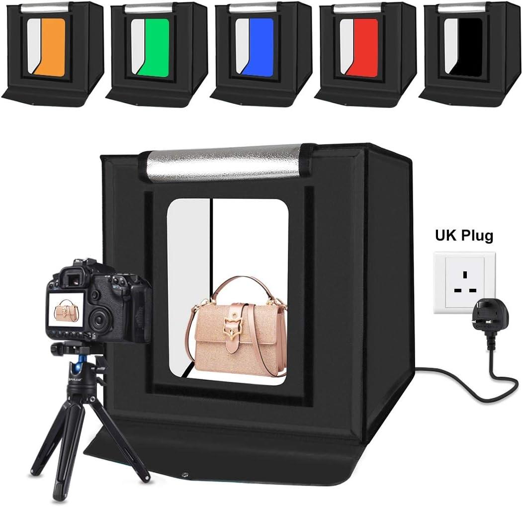 PULUZ 40x40cm 16inch light box Soft box mini studio box softbox 30W Light Photo Lighting Studio Shooting Tent Box Kit