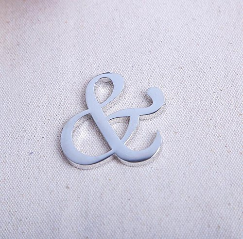 94pcs ''Mr. and Mrs.'' Ampersand Bottle Opener For Wedding Party Favor by cute rabbit (Image #2)