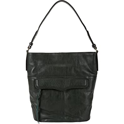 5cec5920d47 Amazon.com  Rebecca Minkoff Jasper Hobo Leather Bucket Bag