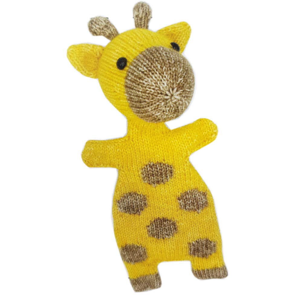 27 cm Hardicraft Set de Fils /à Tricoter pour Faire soi-m/ême Son Tricot avec Les Instructions et Le mat/ériel pour r/éaliser la Girafe Ziggy Cadeau Personnel.