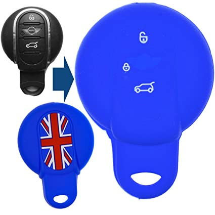 Soft Case Funda Protectora para Mini Cooper One Azul Coches ...