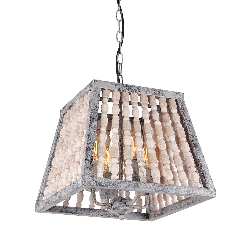 Giluta trapezoid bead chandelier retro style pendant lamp antique