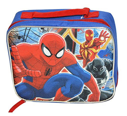 Spiderman SPCORC6ZA Rectangular Lunch Bag, Blue