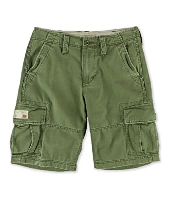 aesthetic appearance shop for best fast delivery Denim & Supply Ralph Lauren Mens Cotton Solid Cargo Shorts ...