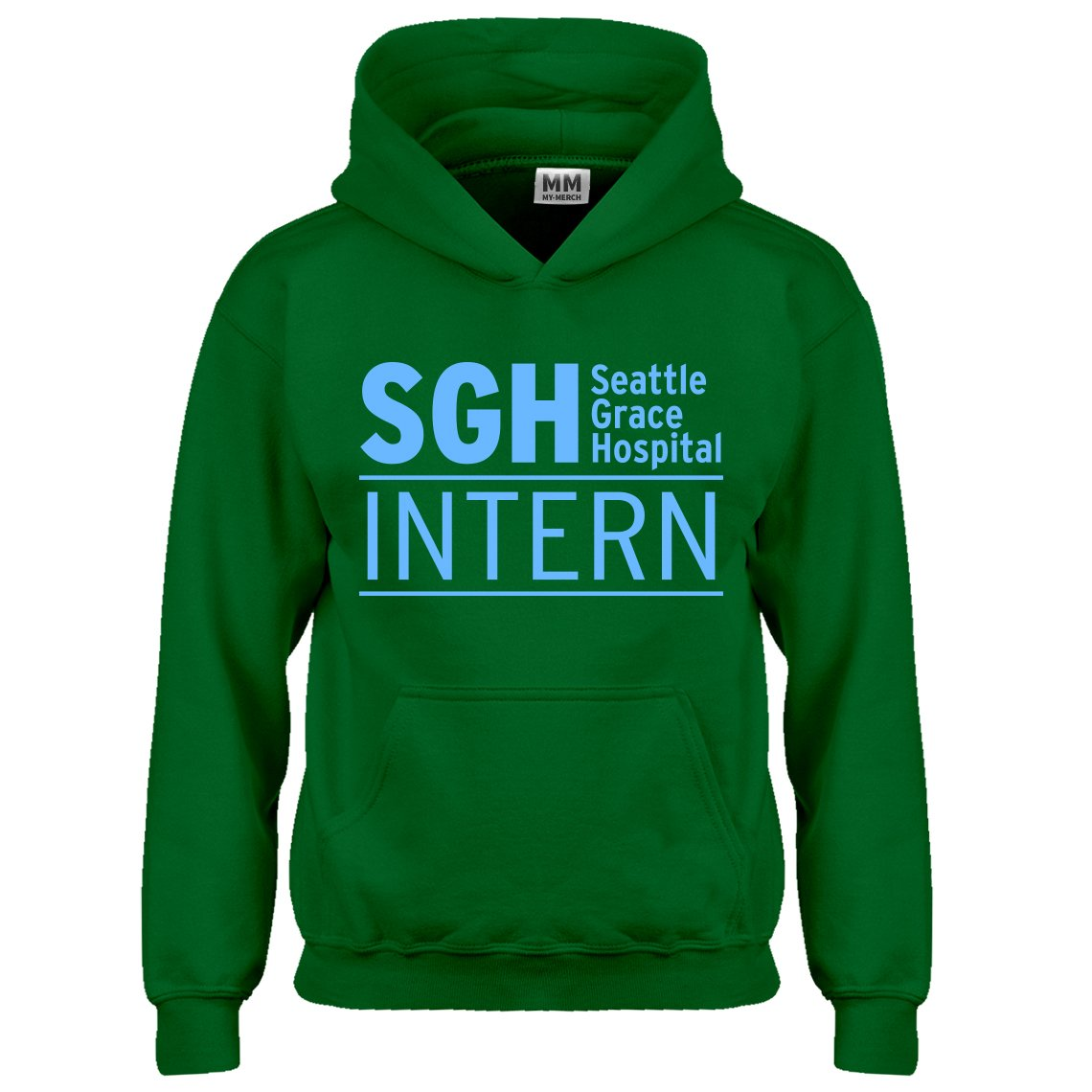 Indica Plateau Intern Seattle Grace Hospital Kids Hoodie 3312-Z