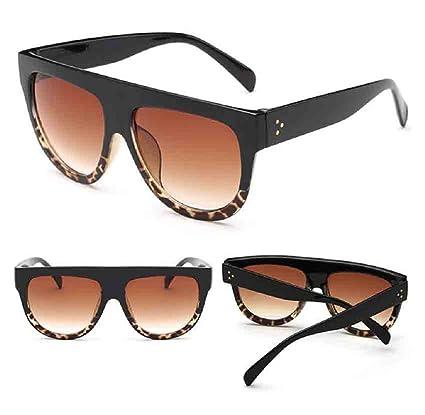 des lunettes de soleil,LHWY Lunettes de soleil en miroir Vintage verres de lunette de sport en plein air (Or, E)