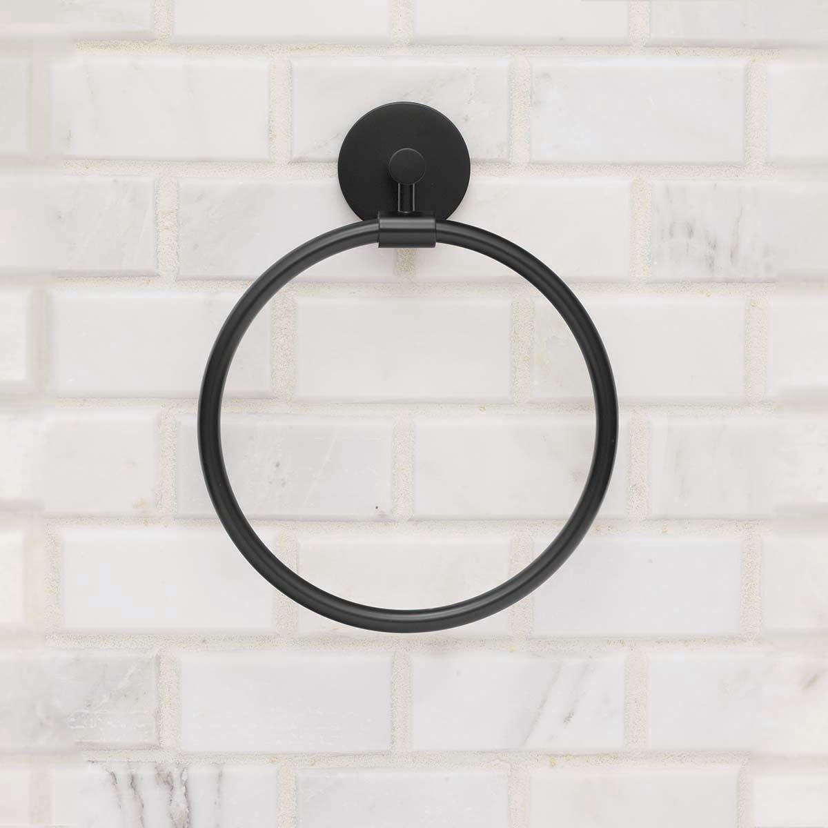 Speakman SA-2004-MB Neo Towel Ring, Matte Black by Speakman (Image #3)