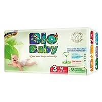 Bio Baby, Unisex, Talla Mediana, 152 Pañales (La imagen del empaque puede variar)