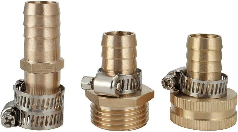 Hose Repair Kit 3//4-5//8 Hose Male Female Connector Set Irrigation System