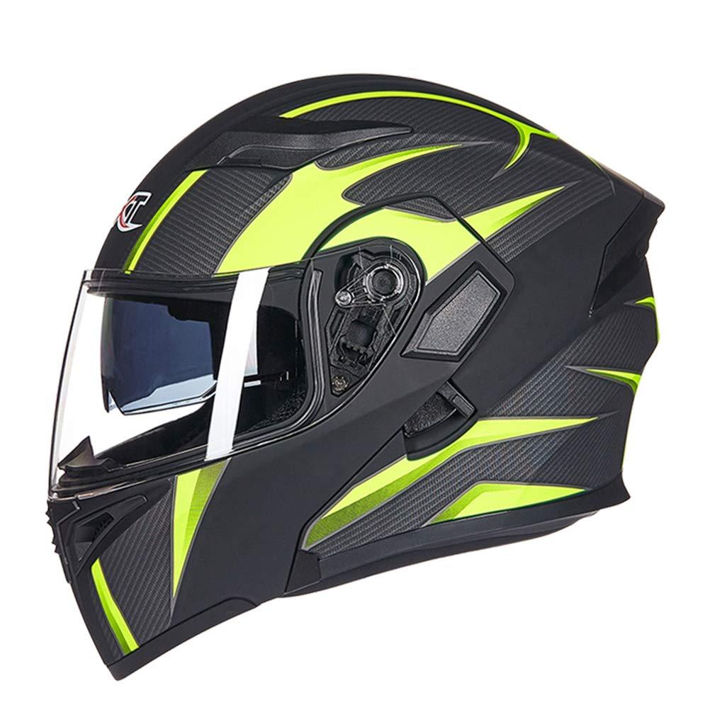 Casco moto modulare doppio visiere uomini flip up Racing caschi ad alte prestazioni professionali donne caschi Outdoor Motocross Caschi