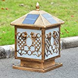 YZL/ Solar pillar lamp post lights/wall lights/gate/door outdoor garden lighting/home outdoor wall light