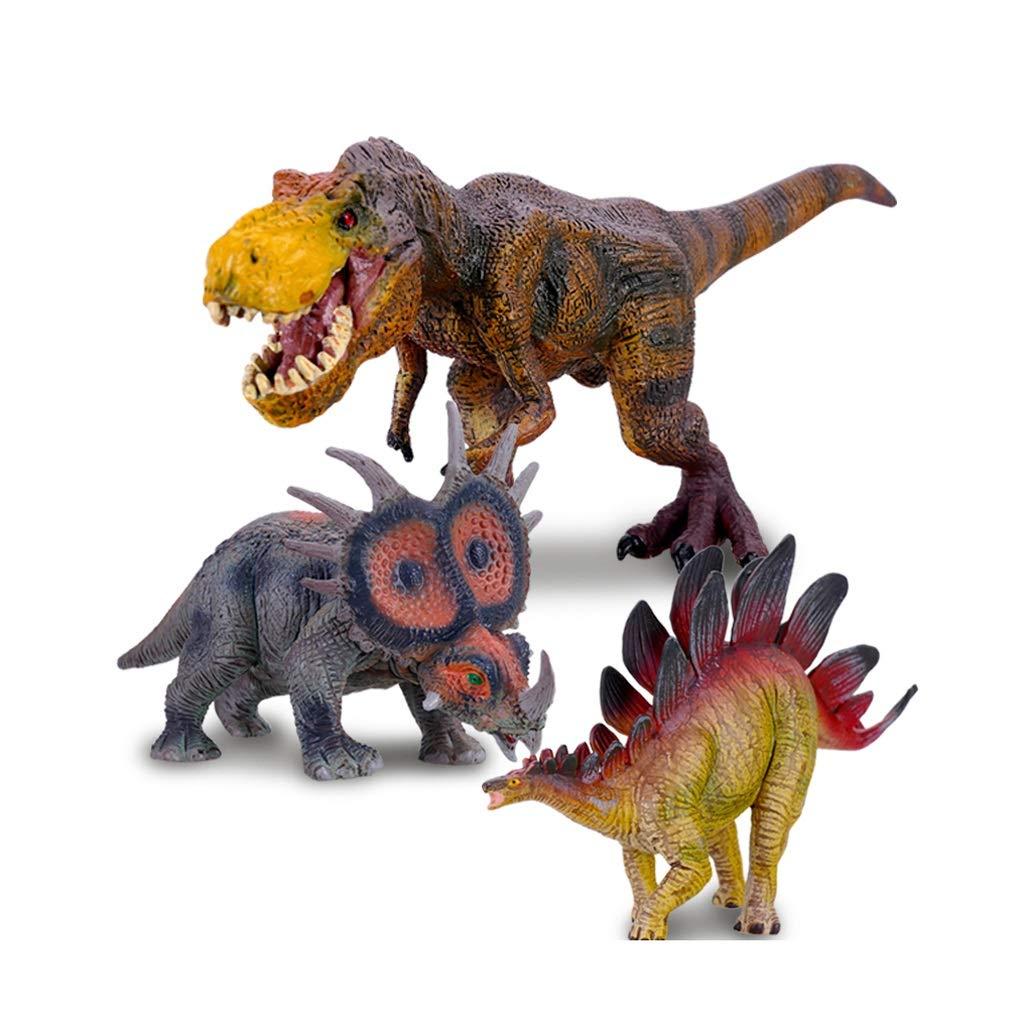 Juguete Infantil Simulación Dinosaurio Modelo 3 Regalo De Cumpleaños (Color : A, Tamaño : S)