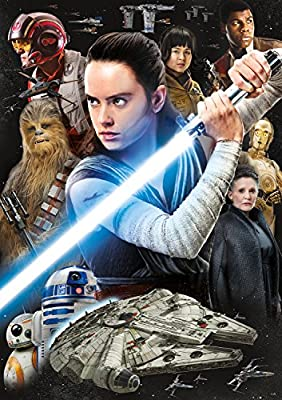 """Star Wars - """"Rey and The Resistance"""" - 300 Large Piece Jigsaw Puzzle"""