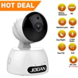 JOOAN Home Security Camera 1080P HD WiFi IP Camera Wireless Surveillance Camera System Great As A Baby/Pet Monitor with Two Way Audio Remote Indoor Night Vision and Motion Detection Alerts