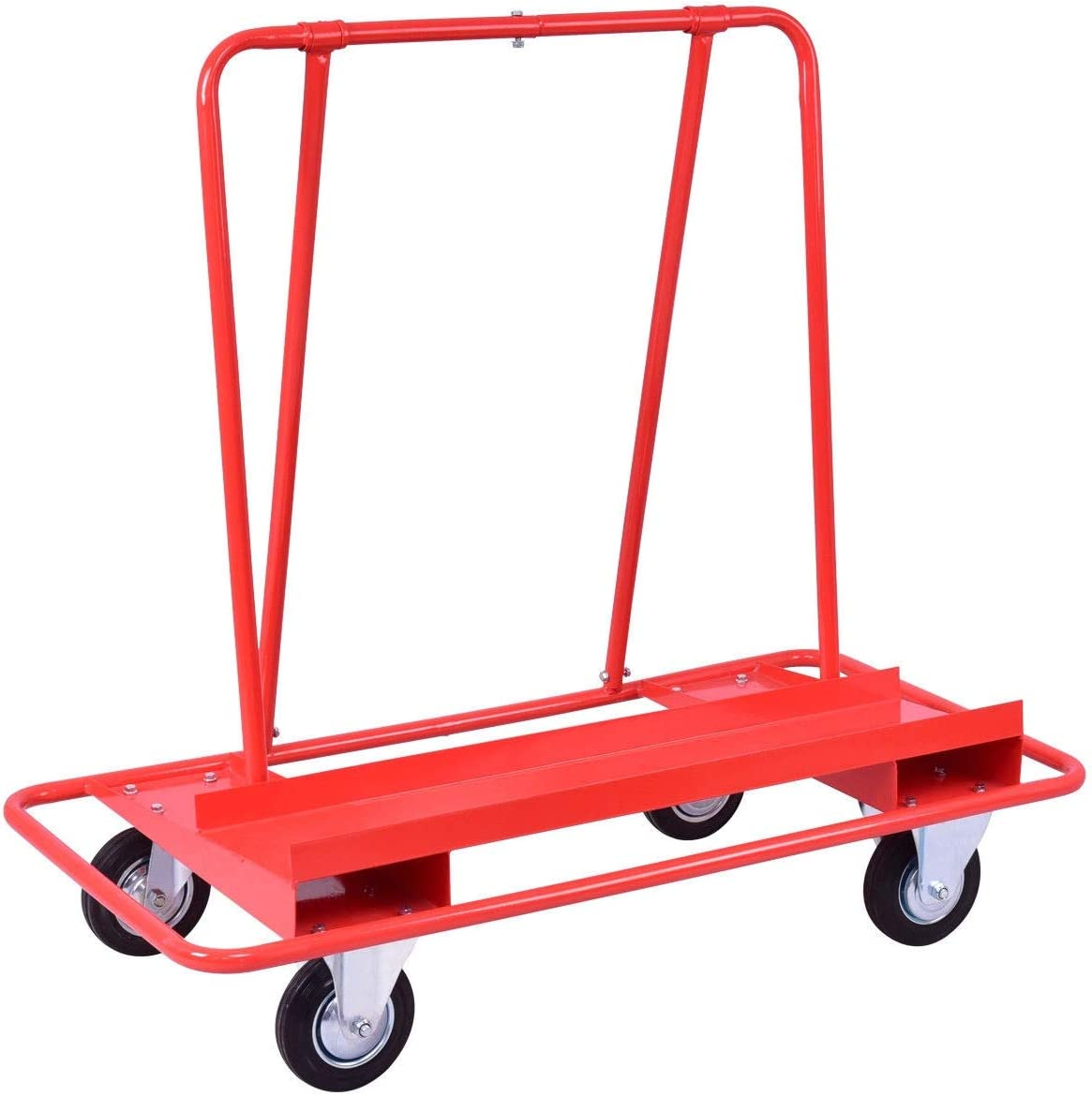 Cypress Shop Drywall Sheet Cart Dolly Handling Sheetrock Heavy Duty Sheet Panel Service Cart Professional Mover Utility Mobility Commercial Grade Trolley Cart Handling Capacity 770lbs Rust Resistance