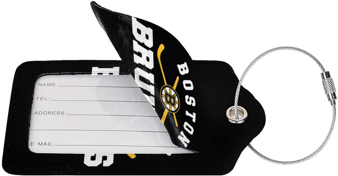 Ovener Etiqueta para equipaje Negro Black 2 Pcs talla /única