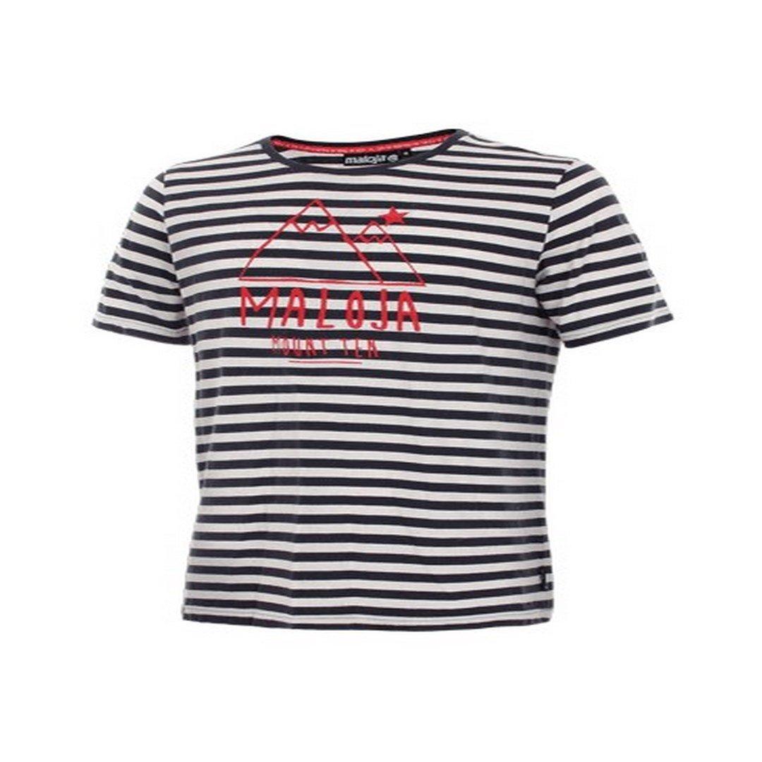 Maloja Sent T-Shirt, Herren, Blau, M