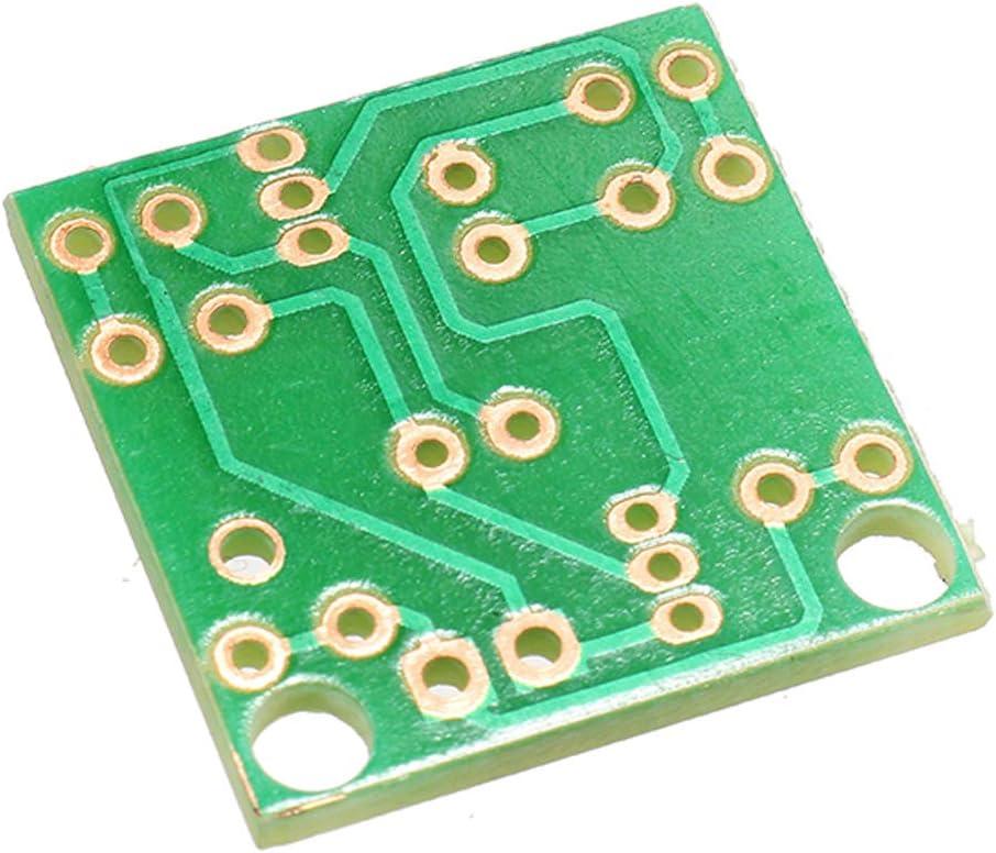 Instructions BouBou 5Pcs Dc 3-14V Diy Simple Led Red Flashlight Circuit Kits Diy Multiharmonic Oscillating Electronic Circuit Sets Pcb Board Electronic Components