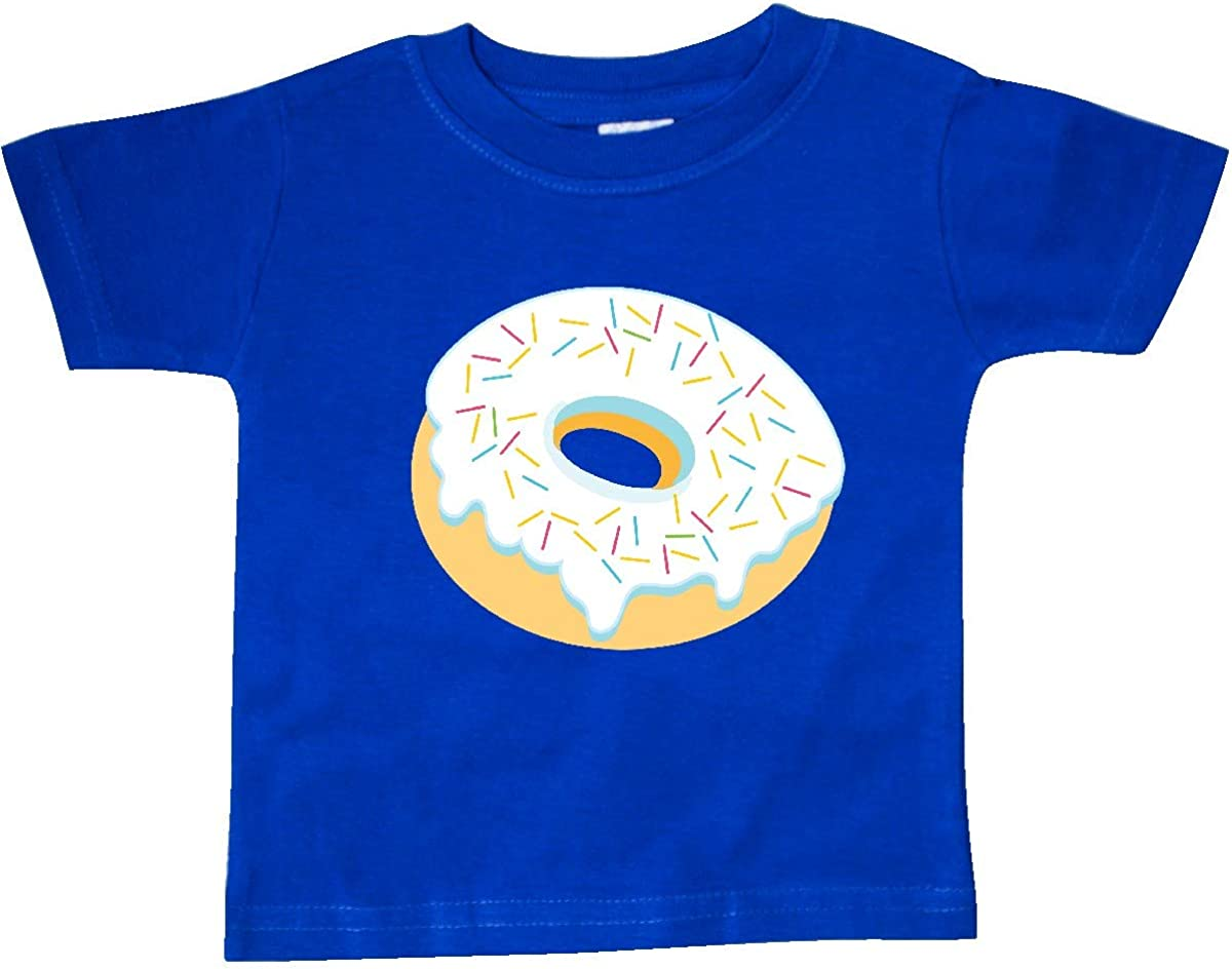 inktastic White Donut with Sprinkles Baby T-Shirt