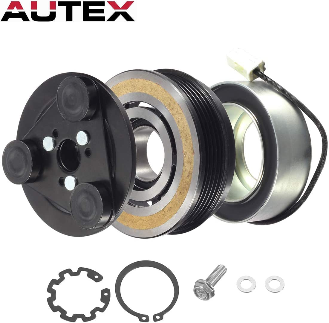 AUTEX AC Compressor Clutch Bearing Air Conditioning Clutch Replacement For 35MM X 55MM X 20MM Air Bearing