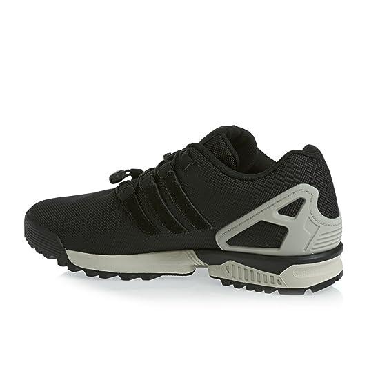 info for 467a6 6823d adidas ZX Flux Cordura - Runner Low Top Sneaker - Black ...
