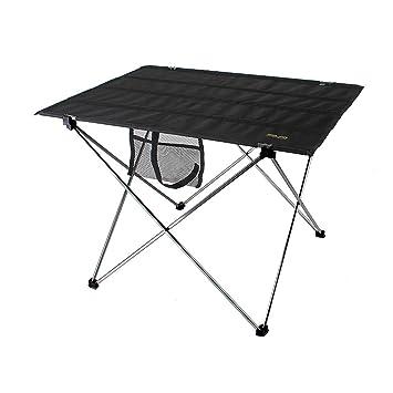 OVOY - Mesa Plegable portátil Ultraligera de Aluminio para Camping ...