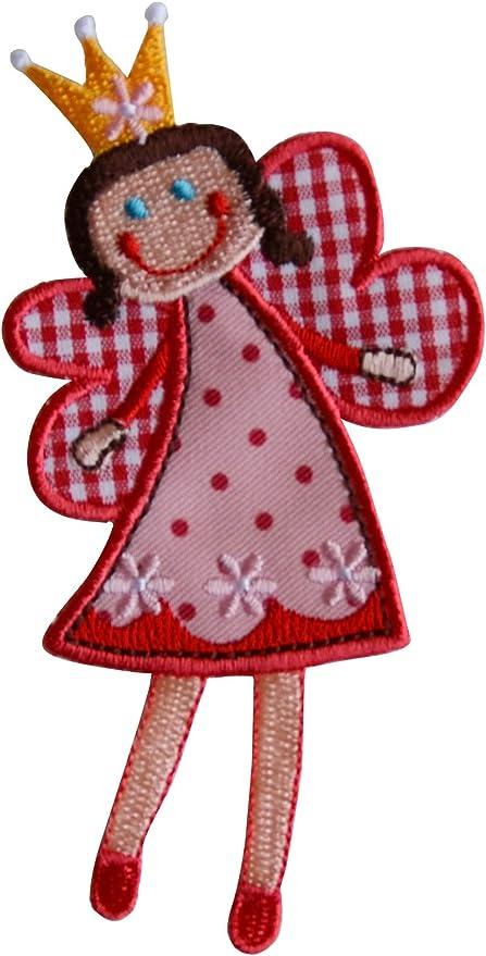 2 Parche de bordado o planchado Sophie Hadas 11X7Cm Círculo Del Corazón 7X7Cm termoadhesivos bordados aplique para ropa con diseño de TrickyBoo Zurich Suiza por España: Amazon.es: Bebé