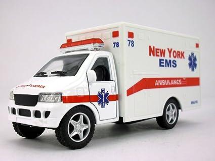 Amazon com: 5 inch New York EMS White Ambulance Scale