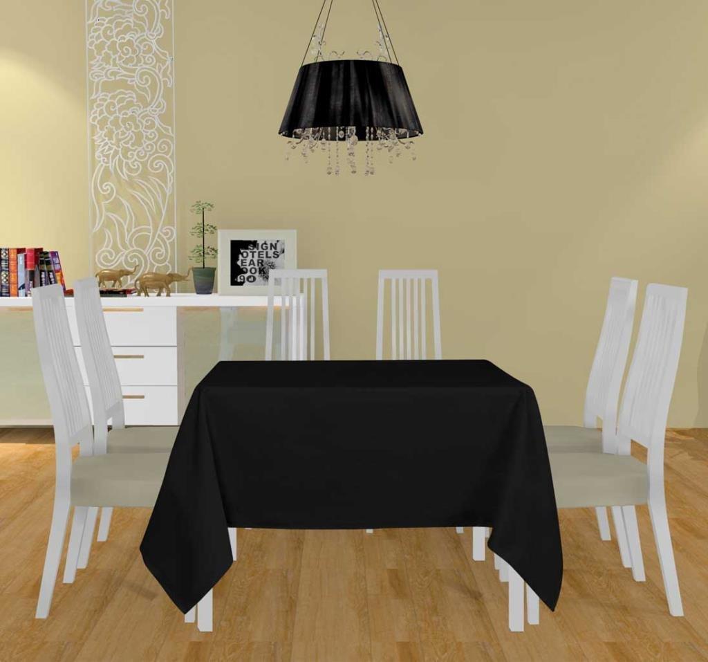 Soleil dOcre 838230 Lot de 3 Alix Serviettes de Table Polyester Gris 40 x 40 cm