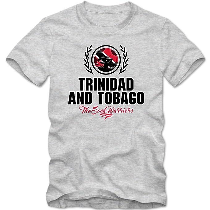 Shirt Happenz Fútbol Trinidad Y Tobago V2 Camiseta | Hombre | Fútbol | The Soca Warriors