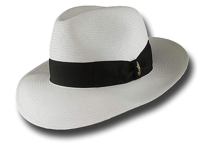 Cappello Borsalino 140340 fedora Panama Montecristi 7 da6f97faebc2