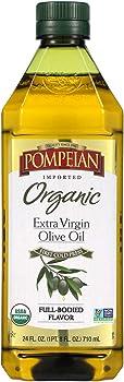 Pompeian Organic Extra Virgin Olive Oil (24 Ounce)