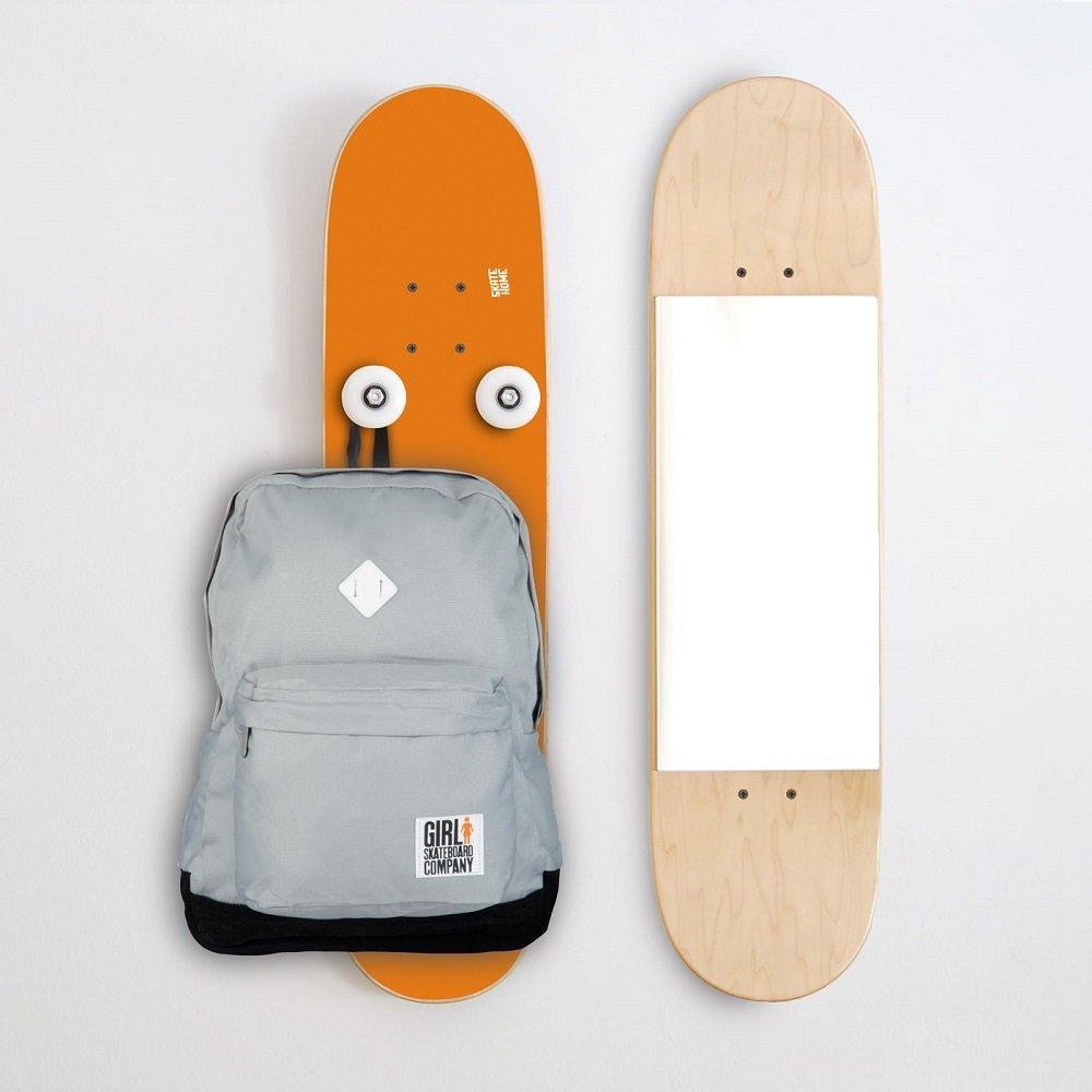 Perchero vertical y Skate Skater espejo para la casa - Idea ...