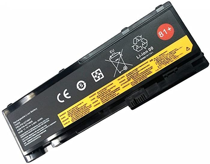 Fully 81+ Replacement Battery Compatible with Lenovo ThinkPad T420i T420s T430s 0A36287 42T4844 42T4845 42T4846 42T4847 45N1036 45N1037 45N1038 45N1039 45N1064 45N1065 45N1143-11.1V 44Wh